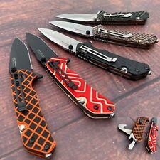 SANRENMU 7056 / 8Cr14MoV Steel / G10 Handle / Multi-tool / Folding knife