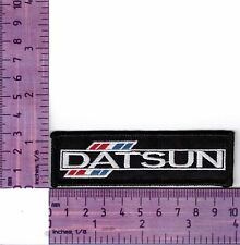 Datsun 240Z Fairlady Black   Embroidered Badge / Cloth Patch  Iron or Sew on