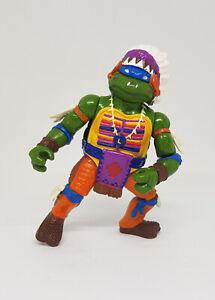 TMNT Vintage CHIEF LEO Figure Incomplete Wacky Wild West Turtles 1992 Playmates