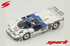 SPARK LM S2350 Toyota 85C #36 24h Le Mans 1985 Nakajima Hoshino Sekiya 1/43