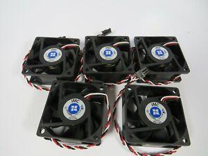 (5 NEW) JMC 6025-24HB 24v 3-WIRE D/C FAN 60x60x25mm 623611-4