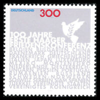 Germany 1999 - First Peace Conference in Haag - Sc 2050 MNH