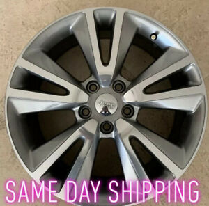 "🛑🛑Dodge Durango 2011-14 20"" OEM Wheel  Rim Smoked Hyper🛑🛑"