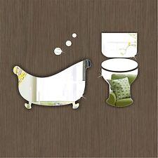 Bathroom & Toilet Door Sign Plaque Office School Hotel Signage Acrylic Mirrors