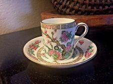 Royal Grafton Demitasse Cup & Saucer Indian Tree Pattern Bone China England