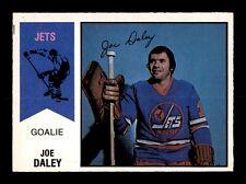 1974-75 O-Pee-Chee WHA #38 Joe Daley NM X1035369