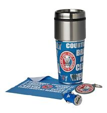 Boy Scout Eagle Award 4 pc Gift Set Lot Travel Mug USB Charger Key Ring Cloth