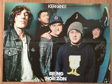 BRING ME THE HORIZON / GERARD WAY (MY CHEMICAL ROMANCE) DOUBLE-SIDED POSTER