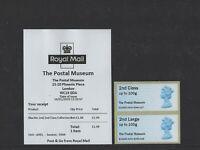 NEW JAN 2020 POSTAL MUSEUM MACHIN 2nd CLASS Ma15 COLLECTOR STRIP B1GB20 Post Go