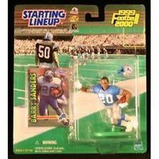 Barry Sanders Detroit Lions Starting Lineup Action Figure NFL NIB NIP 1999-2000