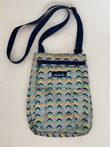 Womens Kavu Multicolored Crossbody Bag Purse