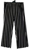 TS pants Taking Shape plus sz S - M / 18 Instinct Stripe Pant stretch chic NWT!