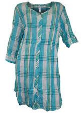 Karierte Sheego Damenblusen, - tops & -shirts in Übergröße