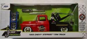 JADA TRUCKS 1955 CHEVY STEPSIDE TOW TRUCK 1/24 VHTF