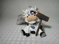 "2020 Tennessee Titans Cow ""Eat More Cookies"" Christmas Ornament"