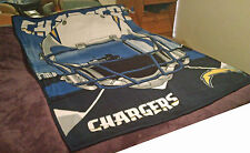 San Diego Chargers Blanket Soft Cozy Warm Football Fan Throw Sports Polyester