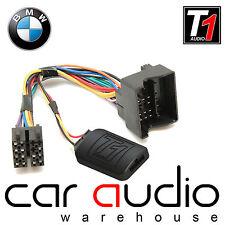 T1-Audio BMW X5 X3 Mini 3 5 Series Flat Pin Steering Wheel Stalk Interface Lead