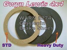 WARN 8274 winch Brake Shoes Heavy Duty Linings gigglepin4x4 gwynlewis4x4 warn