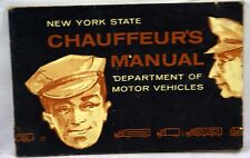 New York State Chauffeaur Manual DMV