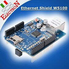 Ethernet Shield W5100 + micro SD slot 100% compatibile Arduino UNO / MEGA2560