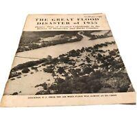 Great Flood Disaster of 1955 Magazine Book Stockton NJ Hunterdon co Democrat VTG