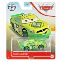 Pixar Cars - DARREN LEADFOOT Metal Car Mattel Disney DVX29 RARE HTF