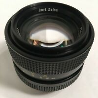 Carl Zeiss QBM Planar Lens HFT for Rollei f/1.4 50mm West Germany Camera