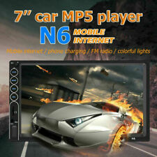 Car Player Radio 7'' 2 DIN MP5 Touch Screen Mirror Link USB/AUX New
