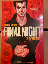 Criminal Macabre: Final Night - The 30 Days of Night Crossover Paperback