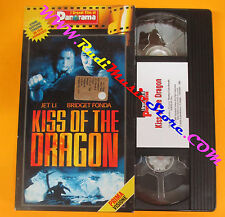 VHS film KISS OF THE DRAGON Jet Li Bridget Fonda Nahon PANORAMA (F135) no dvd