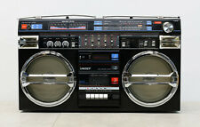UNISEF SZ-5000SL JUMBO BOOMBOX 1985 RADIO DOUBLE CASSETTE RECORDER GHETTOBLASTER