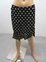 Gonna MOSCHINO Donna Taglia Size 40 Skirt Woman Jupe Femme Nero 7718