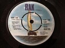 SUZI QUATRO . CAN THE CAN  / AIN'T YA SOMETHIN HONEY . 1973 GLAM ROCK NR MINT