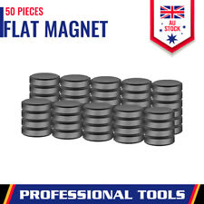 50Pc Strong Disc Magnets Round Flat Magnetic Rare-Earth 18mm Home Office