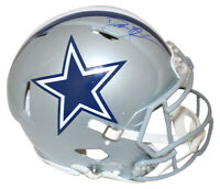 Deion Sanders Autographed Dallas Cowboys Authentic Speed Helmet BAS 27431