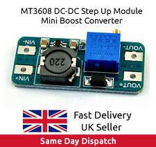 MT3608 DC-DC Voltage Step Up Adjustable Boost Power Module 2A, UK Seller, FAST.
