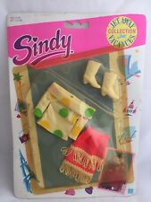 Vintage Sindy Prototype Sample Hasbro JET AWAY COLLECTION VACATION CLOTHES SHOES