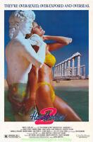 HARDBODIES II MOVIE POSTER 27x40 ORIGINAL Video Store 1sht 1986 VERY NICE ART !!