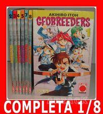 GEOBREEDERS 1/8 completa PLANET MANGA Akihiro Itoh