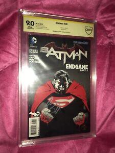 Batman New 52 36 Batman Vs Superman CBCS 9.0 Signed By Superman Henry Cavill