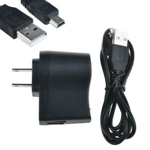 AC Wall Power Charger Adapter + USB Cord for Garmin GPS nuvi 1300/LM/T 1300T/M