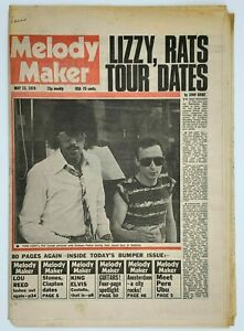 Melody Maker 13 May 1978 Lou Reed Pere Ubu Elvis Costello