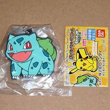 Llavero De Mascota Oficial Pokemon xy&z Goma-Bulbasaur Pocket Monster Bandai