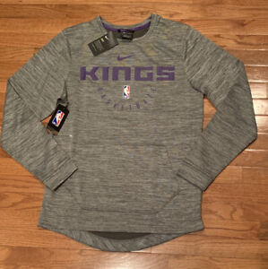 Men's Sacramento Kings Nike Practice Fleece NBA Spotlight Sweatshirt NWT Small