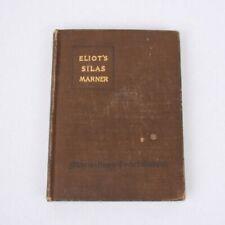 George Eliot's Silas Marner Macmillans Pocket Classics 1915 Antique Book
