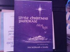 Gerhard Krapf: Little Christmas Pastorale, Silent Night, Organ 4-hands(Concordia