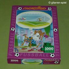 "Mordillo Puzzle - Fußball ""GOAL!"" 1000 Teile Heye 29143 ©2006 1A Top!"