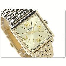 NWT Marc Jacobs Women's Watch Bracelet Yellow Gold Square TRUMAN MBM3259 $250