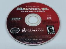 Official Nintendo Gamecube Monsters, Inc. Scream Arena Disc Only Tested Working