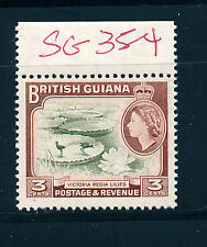 BRITISH GUIANA 1963 DEFINITIVES SG354 (3c)  MNH